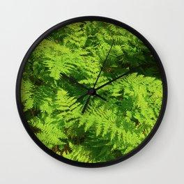 Vibe, Glacier National Park Wall Clock