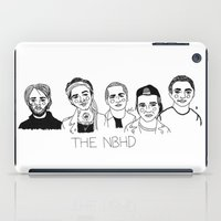 the neighbourhood iPad Cases featuring The NBHD by ☿ cactei ☿