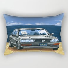 Street Fighter II Bonus Stage Car Rectangular Pillow