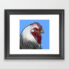Buddy the rooster Framed Art Print