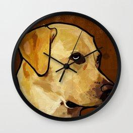 Labrador Retriever Wall Clock