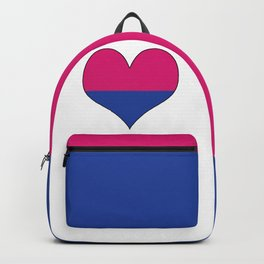 Gender Binary Heart Backpack