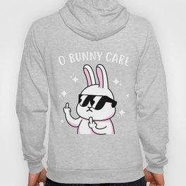 Funny no bunny cares gift Hoody