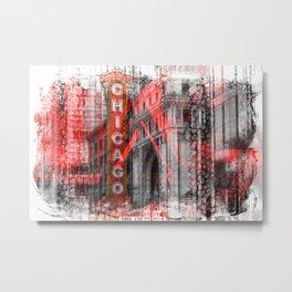 Chicago | Geometric Mix No. 4 Metal Print