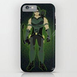 Green Arrow iPhone Case