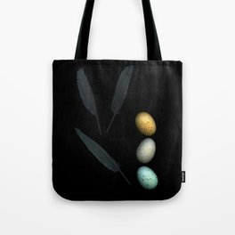 Feathers and Eggs Tote Bag