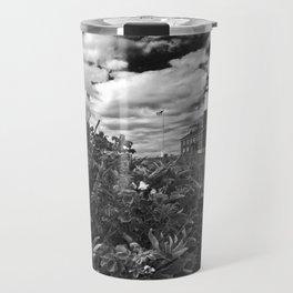 "Montauk Point Lighthouse ""The end"" Travel Mug"