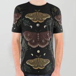 Saturnia Pavonia All Over Graphic Tee