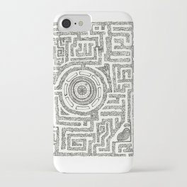 Trilolith Maze iPhone Case