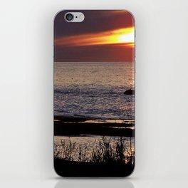 Surreal Seaside Sunset iPhone Skin
