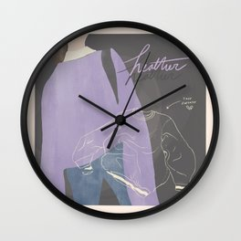 Heather by Conan Gray Vintage Movie Poster Wall Clock