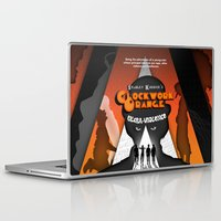 clockwork orange Laptop & iPad Skins featuring A Clockwork Orange by Martin Woutisseth