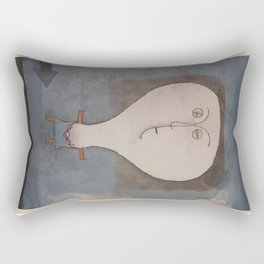 Paul Klee - Fright of a Girl Rectangular Pillow