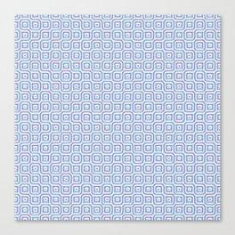 Geometric Mosaic Connections Canvas Print