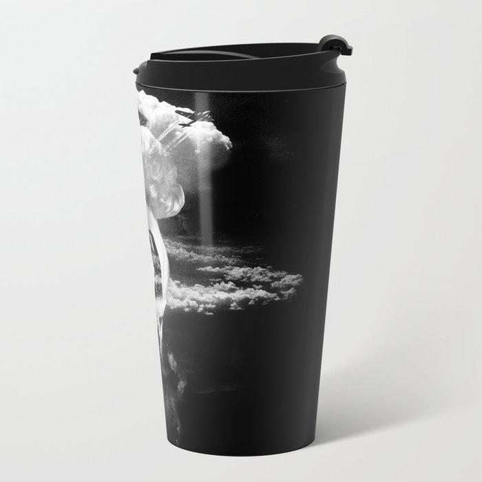 War Goddess Metal Travel Mug