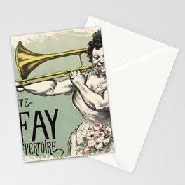 Marguerite Tromboniste Stationery Cards