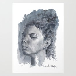 Black women 2  Art Print