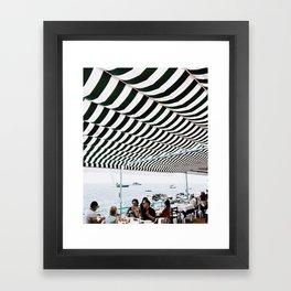 Bold Stripes, Capri Framed Art Print