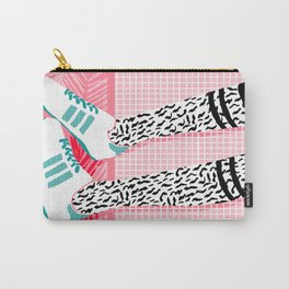 Aiight - sports fashion retro throwback style 1980s neon palm springs socal country club hipster Carry-All Pouch