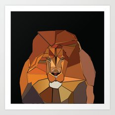 Dark Crystal Lion Art Print