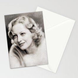 Joan Crawford, Vintage Actress Stationery Cards