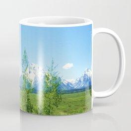 Spring Tetons Coffee Mug