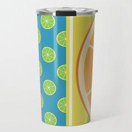 Summer Citrus Party Travel Mug
