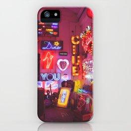 God's own junkyard iPhone Case