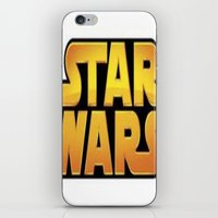starwars iPhone & iPod Skins featuring StarWars by Camorrista