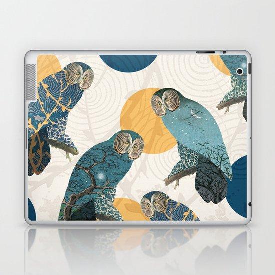 Night Owl Polka Laptop & iPad Skin