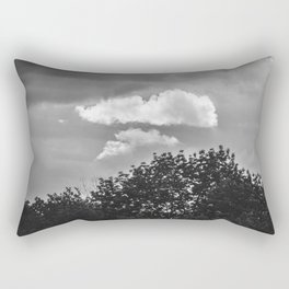 Silver Cloud Rectangular Pillow