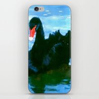 noir iPhone & iPod Skins featuring NOIR by FOXART  - JAY PATRICK FOX
