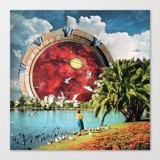 Stargate Installation Canvas Print