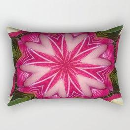 Hearts (from a lovely pink Anthurium flower) Rectangular Pillow