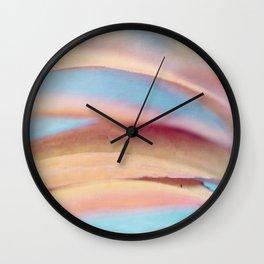 Coneflower Abstract Wall Clock