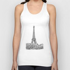 Another Eiffel Tower Photo Unisex Tank Top