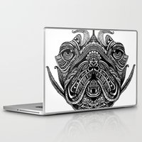 henna Laptop & iPad Skins featuring Henna of Pugly by Huebucket