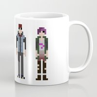 infamous Mugs featuring 8-bit Infamous by MrHellstorm