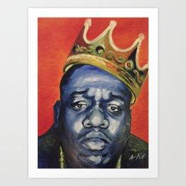 """""""Biggie"""" Art Print"""