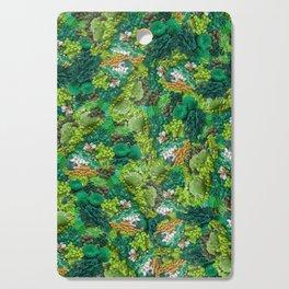 Moss Cluster Cutting Board