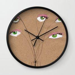 My eyes Wall Clock