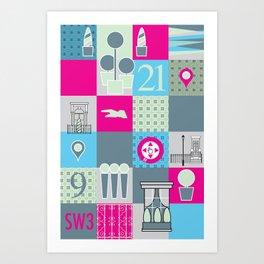 Stuff from SW3  Art Print
