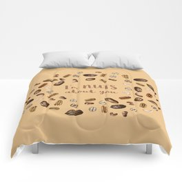 I'm NUTS about you Comforters