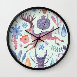 Et coloris natura I Wall Clock