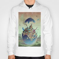imagination Hoodies featuring Imagination  by dreamshade