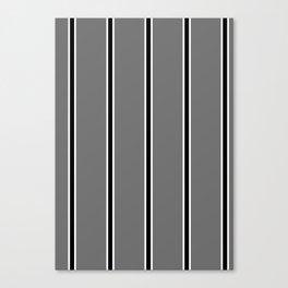 KKEEP IT SIMPLEE - Stripe, Clean, Minimal, Monotone Canvas Print