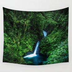 Jungle Waterfall Wall Tapestry