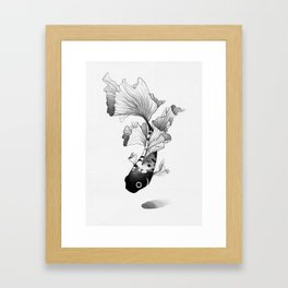Betta Fish Framed Art Print