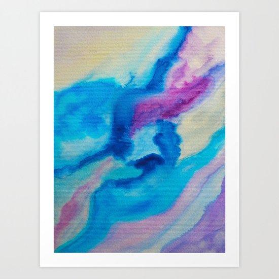 Color explosion 03 Art Print