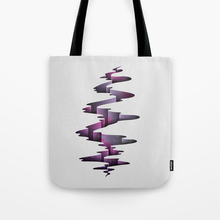 Tectonic Wormhole Tote Bag